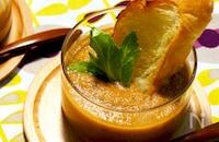 ■夏野菜たっぷり・飲むサラダ♪ガスパチョ■