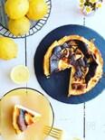 レモンのバスクチーズケーキ