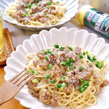 味噌薫る絶品和パスタ♪『肉味噌ボロネーゼ』
