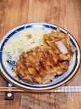 調味料オール1で作る「鶏の生姜焼き」