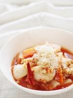 チキンと和野菜のトマト煮込み