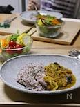 圧力鍋でお野菜&果物ベースのヘルシーカレー。