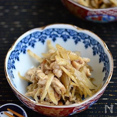 ご飯がススム豚ごぼう【作りおき】