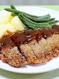 薄切り肉で「ミルフィーユビフカツ」