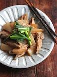 鶏手羽と大根の中華煮込み。