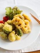 冬野菜のチーズカレーフリッター