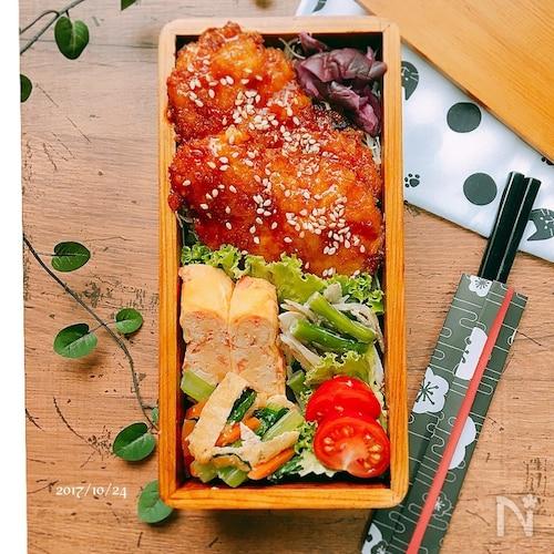 ✴︎ヒレカツのソースかつ弁当✴︎(ソースかつ丼のタレ)
