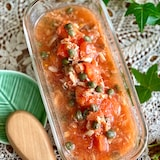 トマトとツナの万能ソース