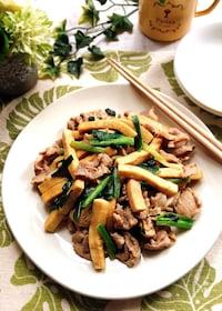 『豚肉と高野豆腐のオイスターソース炒め』