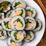 『ツナマヨとカニカマのサラダ巻き』#恵方巻#お祝い