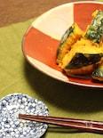 かぼちゃのゴマ味噌和え
