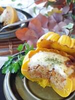 かぼちゃ丸ごとミートソースドリア