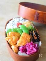 【お弁当おかず】鶏胸肉の甘酢照り焼き