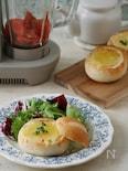 トマトポタージュのブレッドボウル