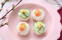 ひな祭りに作ってあげたい♡ツナマヨ手まり寿司