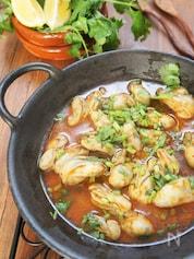 止まらない美味しさ♪牡蠣のピルピル炒め煮タイ風