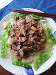 下味冷凍OK☆薄切り豚肉の味噌ガーリック炒め