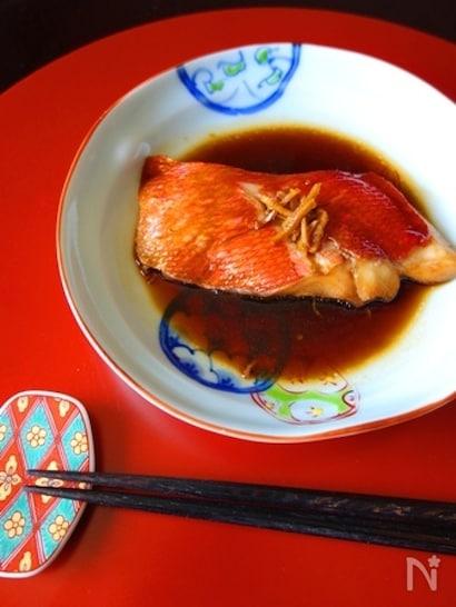 金目鯛の簡単煮付け