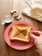 キャラメルチーズフォンデュトースト