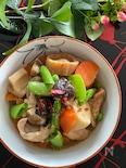 便利な乾物で絶品♡鶏肉と野菜の煮物