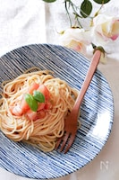 トマト好きによる!冷製トマトパスタ