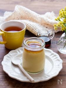 【簡単おやつ】カラメル不使用!焼き芋と豆乳のプリン