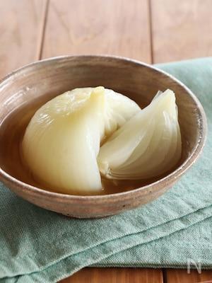 新玉ねぎの丸ごとだし煮