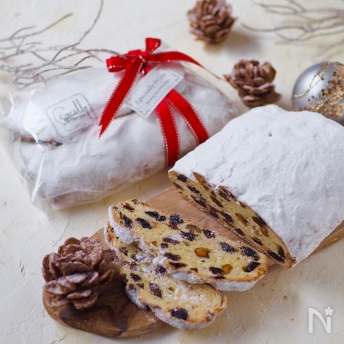 発酵なし!初心者でも簡単に出来るシュトーレン【クリスマス】