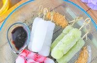 簡単!市販わらび餅で溶けない「くずシャリ風」アイス
