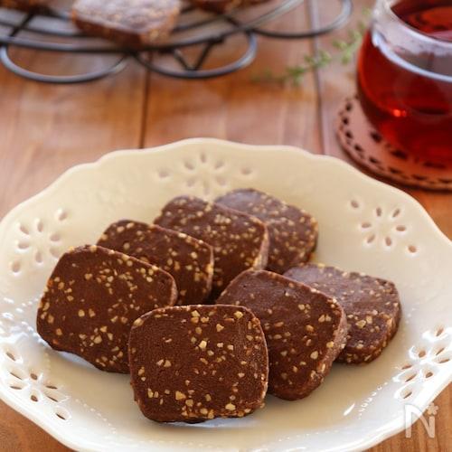 アーモンドのアイスボックスクッキー