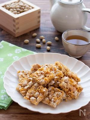 【節分豆の活用に】フライパン一つで完成!簡単マシュマロおこし