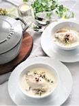牡蠣と白菜のチャウダー