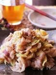 ゴハンがすすみ過ぎるっ♡豚バラ肉とキャベツのオイスタ味噌炒め