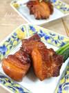 基本の和食・ほろほろ豚の角煮。