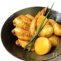 味付け1つ♡炊飯器de<らくウマ>新じゃが&鶏手羽の甘辛煮