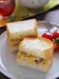 ふわふわサバ卵トースト