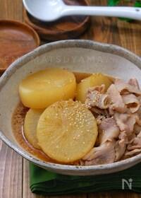 『*大根と豚バラの旨味噌煮*』