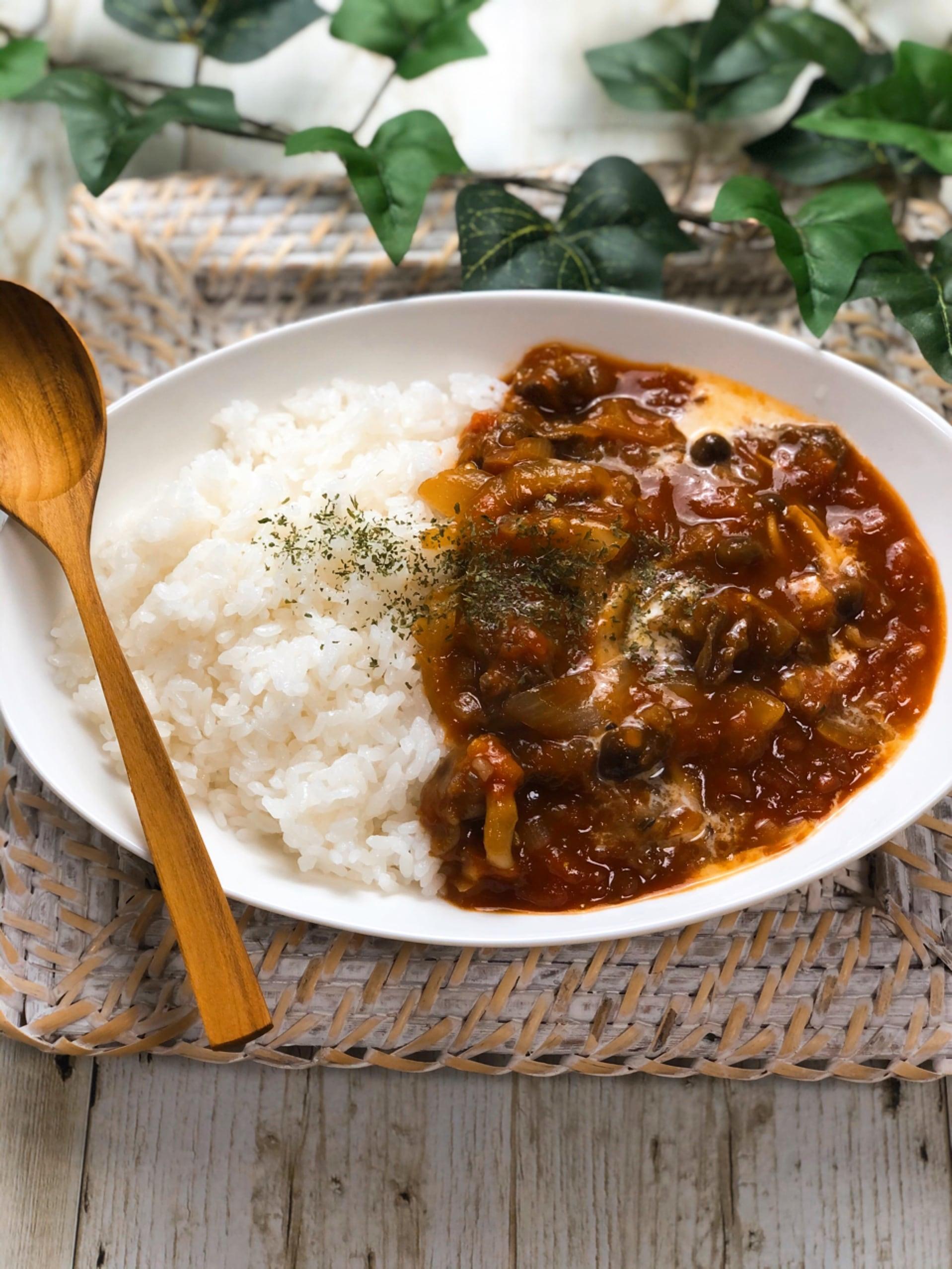 ハヤシライス 完熟 トマト レシピ の ソース