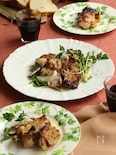 鶏もも肉の照り焼き ガーリックマスタード風味
