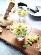 イタリアンおつまみ!枝豆とじゃがいものパルミジャーノ和え