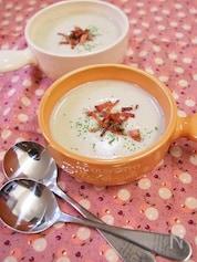 白菜とマッシュルームのポタージュ