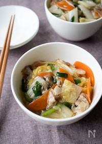 『『白菜どっさり!中華丼』#簡単#ヘルシー#野菜たっぷり』