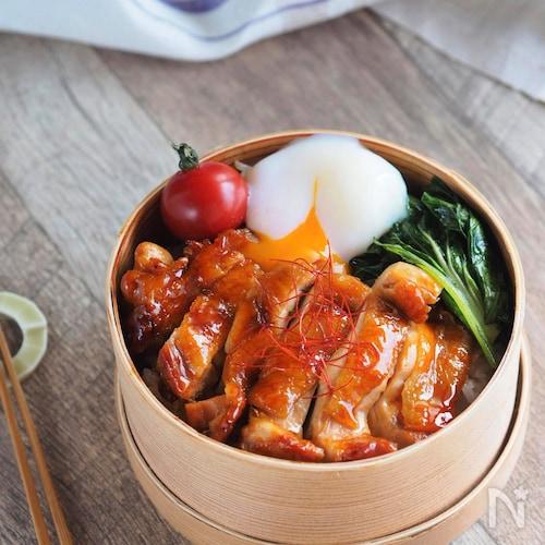 【15分弁当】材料3品で大満足♪鶏のコチュジャン照り焼き弁当