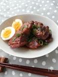 豚ブロック肉のガーリック醤油煮込み
