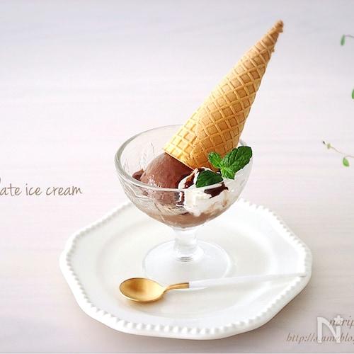 冷凍庫まで3分<材料3つ>濃厚ウマい!お豆腐チョコアイス