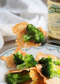 『チーズパリパリ!羽根つきブロッコリー』