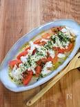 サラダチキンとトマトの相性がいいサラダ