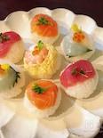 <ひなまつり>簡単♡かわいい手まり寿司♡