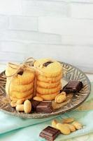 本格クッキーでコスパ◎サクほろ♡チョコピークッキー