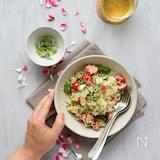 トマトきゅうりアボカドのキヌアサラダ